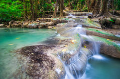 Beautiful Waterfall, Thailand Royalty Free Stock Image