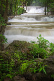 Beautiful waterfall in Thailand stock photo