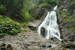 Beautiful waterfall in Transylvania Royalty Free Stock Photography