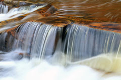 Beautiful waterfall in the Uinta Mountains Stock Photos