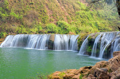 Beautiful waterfalls Stock Photos
