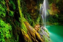 Beautiful waterfalls stock image