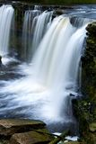 Beautiful waterfalls in Keila-Joa, Estonia. Summer time Royalty Free Stock Photography
