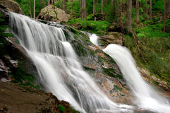 Beautiful waterfalls Rissloch stock photography
