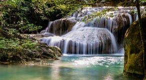 Beautiful waterfalls in Thailand royalty free stock photo