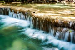 Beautiful waterfalls in Thailand stock image