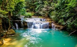 Beautiful waterfalls in Thailand stock photos