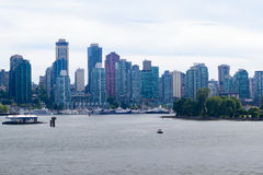 Beautiful waterfront view of downtown Vancouver Stock Photos