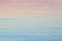 Evening Water Background Royalty Free Stock Photography
