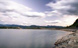 Beautiful waterscape. Liptovska Mara, Slovakia Stock Photography