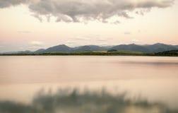 Beautiful waterscape. Liptovska Mara, Slovakia Royalty Free Stock Photography