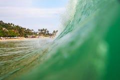 Beautiful wave in the ocean Stock Photos