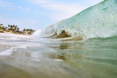 Beautiful wave in the ocean Stock Photo
