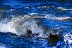 Beautiful Waves. In Beibu Gulf,china Stock Image