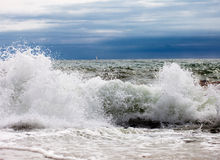 Beautiful waves Stock Photography