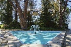 The beautiful Wayfarers Chapel. The beautiful Glass Church - Wayfarers Chapel at Rancho Palos Verdes, California stock photography