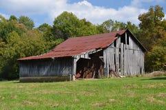 Beautiful weathered barn in fall Stock Photography