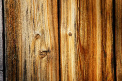 Beautiful weathered wood. Perfect detail macro shot of weathered wood planks, outside a wood cabin, great background Royalty Free Stock Photography