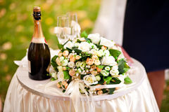 Beautiful Wedding accessories Stock Image