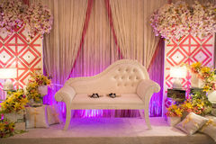 Beautiful Wedding Altar/Dais Royalty Free Stock Image