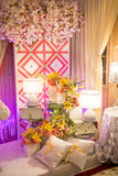 Beautiful Wedding Altar/Dais Stock Photography