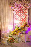 Beautiful Wedding Altar/Dais Royalty Free Stock Image