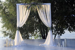 Beautiful wedding arch Stock Image