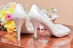 Beautiful wedding arrangement stock image
