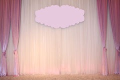 Beautiful Wedding Backdrop Stock Photography