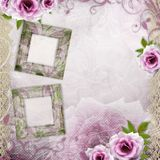 Beautiful wedding  background Stock Photography