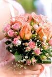 Beautiful wedding bouquet Stock Image