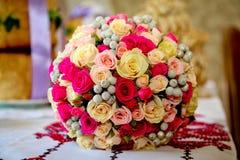Beautiful wedding bouquet. Wedding bouquet Stock Image