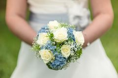 Beautiful Wedding Bouquet Stock Image