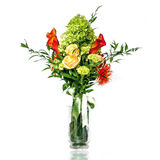 Beautiful wedding bouquet. The beautiful wedding bouquet for the bride Stock Image