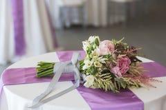 Beautiful wedding bouquet Royalty Free Stock Image