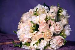 Beautiful wedding bouquet close-up Stock Images