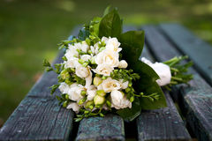Beautiful wedding bouquet Stock Photography