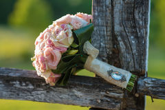 Beautiful wedding bouquet. Royalty Free Stock Images