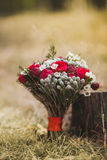 Beautiful wedding bouquet of flowers Royalty Free Stock Photo
