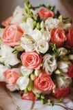 Beautiful wedding bouquet Stock Images