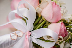 Beautiful wedding bouquet Stock Photography