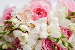 Beautiful wedding bouquet Royalty Free Stock Photo