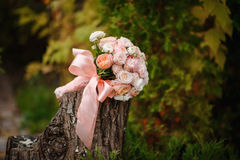 Beautiful wedding bouquet Royalty Free Stock Images