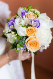 Beautiful wedding bouquet Stock Photo