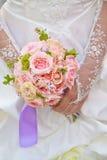 Beautiful wedding bouquet. Royalty Free Stock Photography