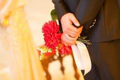 Beautiful wedding bouquet Royalty Free Stock Photos
