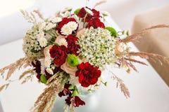 Beautiful wedding bouquet of wildflowers Stock Photos