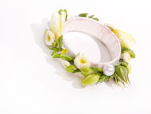 Beautiful wedding bracelet Royalty Free Stock Image