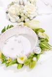 Beautiful wedding bracelet Stock Images
