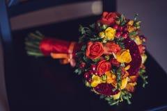 Beautiful wedding bridal bouquet. Stock Images